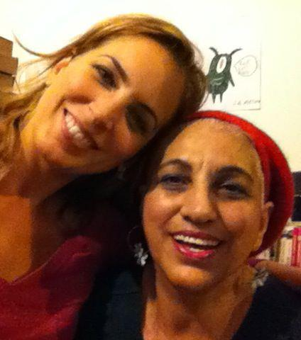 Jasmine Harman and mother Vasoula HELP FOR HOARDERS BBC1